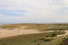 Chatham, Cape Cod beach. Beach in summer in Chatham, Massachusetts on Cape Cod Royalty Free Stock Photography