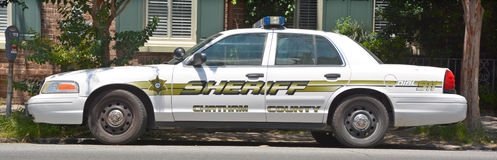 Chatham County Sheriff's Office car. SAVVANAH GEORGIA JUNE 27 2016: Chatham County Sheriff's Office, are committed to enforcing state law and providing Stock Images