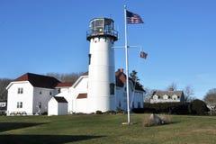 Chatham-Leuchtturm lizenzfreie stockfotografie