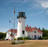 Chatham-Leuchtturm, Chatham, MA Stockfotos
