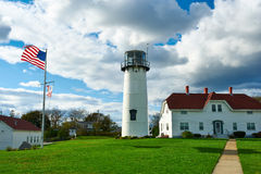 Chatham Lighthouse at Cape Cod Stock Photography