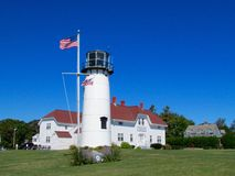 Chatham lighthouse Royalty Free Stock Images