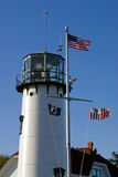 Chatham Lighthouse Tower on Cape Cod Royalty Free Stock Photography
