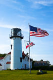 Chatham, MA Lighthouse Royalty Free Stock Photo