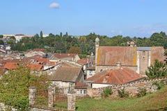 Chatillon-sur-Chalaronne, Francja obraz royalty free