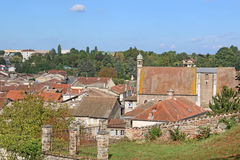 Chatillon-sur-Chalaronne Frankrike royaltyfri bild