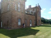 Chatlheraultkasteel Hamilton Schotland royalty-vrije stock afbeelding