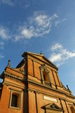 Chatolic教会在伊莫拉 库存图片