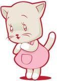 chaton mignon petit illustration de vecteur