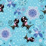 Chatons d'amour de texture Image libre de droits