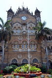 Chatrapati Shivaji Terminus. Earlier known as Victoria Terminus in Mumbai, India. It was built in 1878 Stock Photography