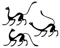 Chats illustration de vecteur