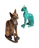 chats deux Photographie stock libre de droits