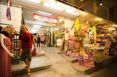 HUAHIN, Thailand:Chatsila night market. Stock Photo