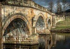 Chatsworth-Brücke lizenzfreie stockfotos