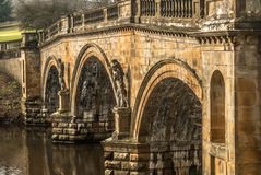 Chatsworth Bridge Royalty Free Stock Photo