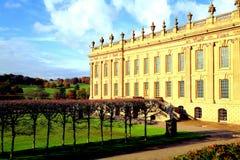 Chatsworth dom, Derbyshire. Zdjęcia Royalty Free