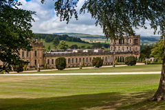 Chatsworth House Royalty Free Stock Photo