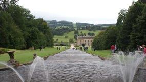 Chatsworth House Stock Image