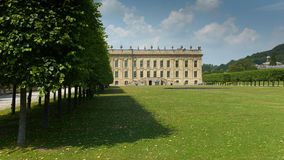 Chatsworth House in the Peak District of Derbyshire Royalty Free Stock Images