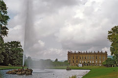 Chatsworth House Royalty Free Stock Images