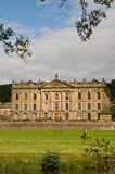 Chatsworth house in the summer sun Royalty Free Stock Photo