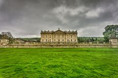 Chatsworth House Royalty Free Stock Photography
