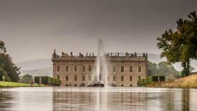 Chatsworth hus arkivbild