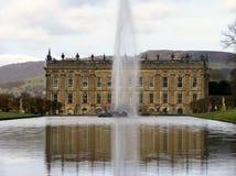 Chatsworth hus Arkivfoton