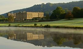 Chatsworth reflected Royalty Free Stock Photography