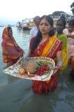 chatt节日印度 库存图片