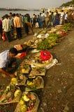 Chatt Festival In India. Stock Images