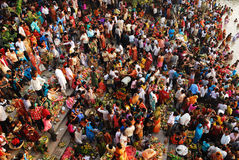 Chatt Festival in India Stock Images