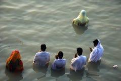 Chatt Festival in Indien Lizenzfreies Stockbild