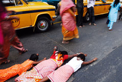 Chatt Festival in Indien Stockbild