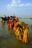 Chatt Festival in Indien Lizenzfreie Stockfotografie