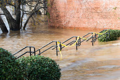 Chattahoochee River Flooding Stock Photo