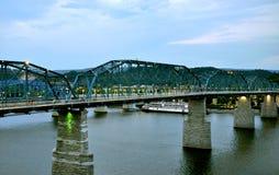 Chattanooga most Fotografia Royalty Free