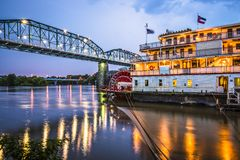 Chattanooga Tennessee royaltyfria foton
