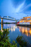 Chattanooga, Tennessee, USA. On the Tennessee River royalty free stock photo