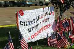 Chattanooga Terror Attack Royalty Free Stock Photo