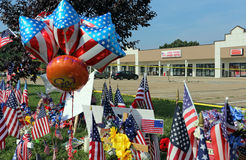 Chattanooga-Terroranschlag Lizenzfreies Stockbild