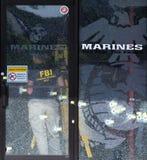 Chattanooga terrorattack Fotografering för Bildbyråer