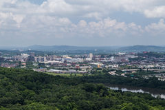Chattanooga, TN/USA - circa July 2015: View of Chattanooga,  Tennessee Stock Photography