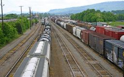 Chattanooga Train Yard Stock Photos