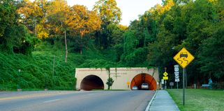 Chattanooga-Tunnel Lizenzfreies Stockbild