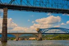 Chattanooga wysokości mosty Zdjęcia Stock