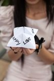 Chatterbox Paper Game Stock Photography