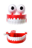 Chattering Teeth Toy Stock Images