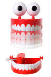 Chattering Teeth Toy Royalty Free Stock Photos